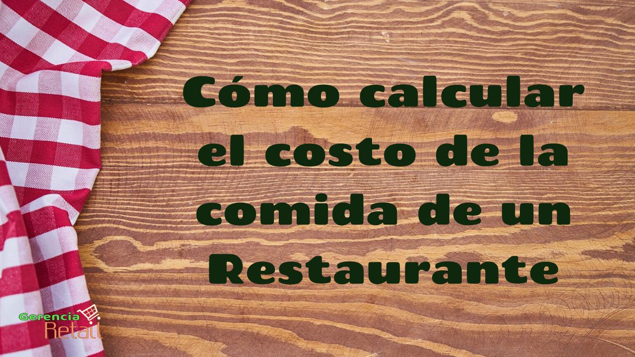 costo restaurante