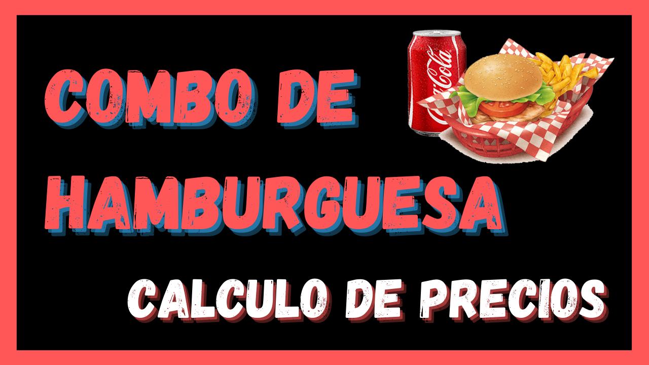 Combo de Hamburguesa