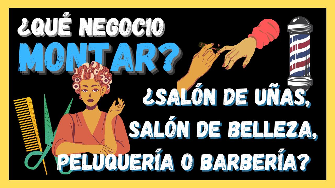 Salón de uñas, salón de belleza, peluquería o barbería